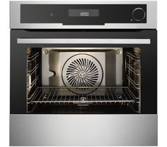 Buy Electrolux Built-in Steam Oven With Food Probe - Stainless Steel With Antifingerprint Coating from Appliances Direct - the UK's leading online appliance specialist Built In Electric Oven, New Oven, Coquille Saint Jacques, Single Oven, Stove Oven, Oven Range, Oven Cooking, Fett