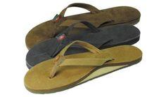 Rainbow Premier Leather 301 Narrow Strap Sandal - Women's