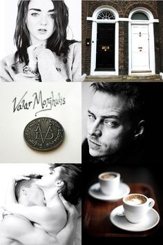 """""""The House of Black and White: this is where you'll find the man you seek."""" (c)    Jaqen H'ghar x Arya Stark modern au"""
