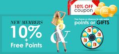 Love to WIN cool stuff ? Or more Z Points & Coupons? Then play our Lucky Wheel at Zaful to win fabulous fashion. Click the link to start winning!