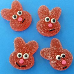 Hungry Happenings: Fill your Easter Baskets with Homemade Sour Gummy Bunnies