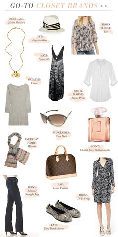 Everyday Essentials: Go-To Closet Brands