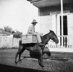 Puerto Rico Cartero (mailman) 1900