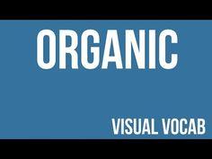 Organic defined - From Goodbye-Art Academy - YouTube