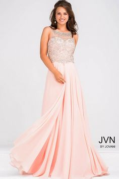 Jovani JVN27809 - Shop more designer prom and evening dresses at MERANSKI.COM  Worldwide Shipping and local boutique in South Florida!