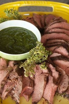 Cooking Beef Tenderloin with Fresh Herbs | reluctantentertainer.com