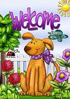 Toland Home Garden Chagrowl Pug 12.5 x 18-Inch Decorative USA-Produced Garden Flag   CanineGifts.net