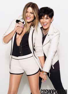 Khloé Kardashian and Kris Jenner Interview - Khloe Kardashian Covers Cosmopolitan - Cosmopolitan Koko Kardashian, Kardashian Family, Kardashian Style, Kardashian Jenner, Kardashian Fashion, Kim And North, Kim And Kourtney, Jenner Family, Jenner Sisters