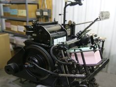 The actual ancient letterpress--used to be able to get them for a couple hundred 30 years ago. Now, 10's of thousands.