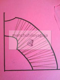 PATRONES DE COSTURA : TRANSFORMACIONES EN PINZAS DE COSTURA 1ª PARTE