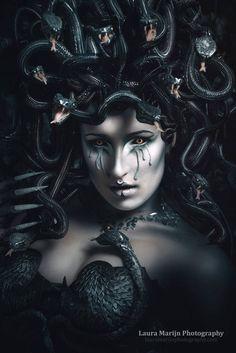Medusa headdress | Etsy