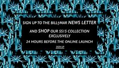 Sign up to the newsletter at billandmar.com to be the first to see our new collections and get £10 credit to spend online at www.billandmar.com #billandmar #fashion #ss15 #print #cactus