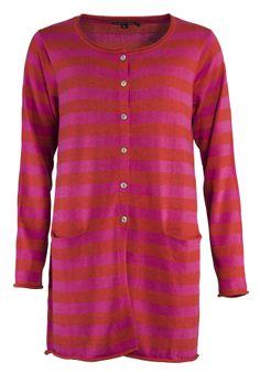 Frühjahrskollektion 2014 - Die Langjacke ist aus 75% Baumwolle sowie 25% Leinen und somit echte Naturmode mit Stil. Die Jacke überzeugt durch ihre wunderschöne Farbkombination und die herrliche Materialmischung.