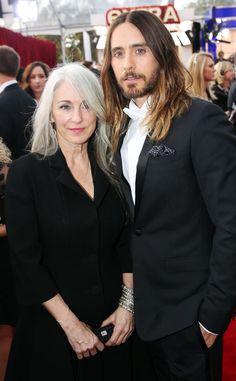 Constance Leto, Jared Leto, SAG Awards 2014