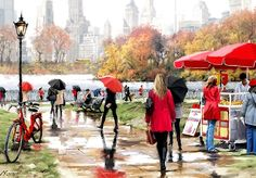 RICHARD MACNEIL - Central Park