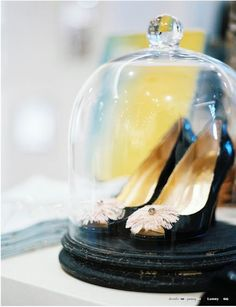 Bell jar love - nice centre piece.x Frame what you want........
