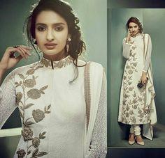 #Longpajamisuitforparties #LongPajamisuitdesign #LatestPajamisuitBuyonline #StylishPajamisuitonline  Maharani Designer Boutique  buy it click on this link :  http://maharanidesigner.com/Anarkali-Dresses-Online/anarkali-dresses-online/ Rs-11000. Fabric-Georgette. Machine work. For any more information contact on WhatsApp or call 8699101094 Website www.maharanidesigner.com