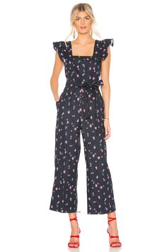 84dbb4d480f5 Womens Forever New Cut Out Jumpsuit - Blue in 2019