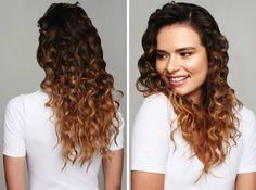 Kręcone włosy wyglądają zawsze bajecznie i kobieco! Zrobisz takie u nas za jedyne 30-40 zł!