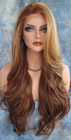 Lace-Front-Wig-CLR-FS8-27-613-LONG-FLOWING-WAVES-SEXY-USA-SELLER-FAST-SHIP-182