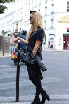Black on black // Maria Skappel