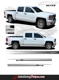 CHAMP Chevy Silverado Or GMC Sierra Vinyl Graphic Decal - Chevy decals for trucksmore decalchevrolet silverado rally edition unveiled
