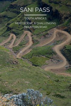 The Sani Pass connecting South Africa and Lesotho is one of the steepest and most challening mountai Uganda, Africa Destinations, Travel Destinations, Safari, Namibia, Road Trip Hacks, Africa Travel, Travel Around The World, Where To Go