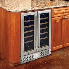 N'FINITY PRO HDX 38 Dual Zone Wine Cellar (Stainless Steel) at Wine Enthusiast - $1,099.00