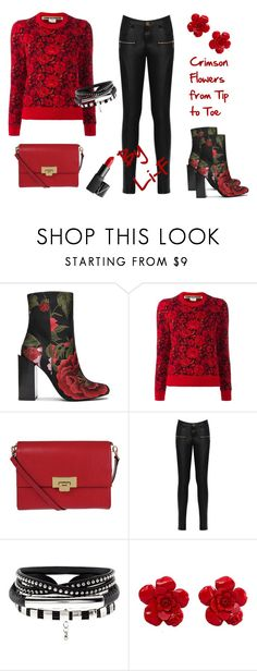 """""""Some Hot Guys Wear Flowers ;)"""" by li-f ❤ liked on Polyvore featuring Jeffrey Campbell, Comme des Garçons, Lodis, WearAll, Chanel, NARS Cosmetics, androgynous, bigender, genderfluid and femboy"""