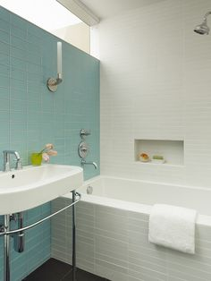 Photo 7 of 767 in Best Bath Photos from What's the Best Way to Save Space in a Small Bathroom? - Dwell