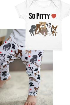 pitbull outfit, pitbull leggings, pitbull baby, pitbull shirt, pitbulls, pitbull and baby, pitbull clothes, babalus by lucy