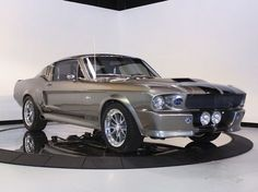 """1967 Ford Mustang fastback """"Eleanor"""" style ════════════ ❄❄ Alittlemarket ☞ https://www.alittlemarket.com/boutique/au_royaume_du_timbre-3130013.html"""