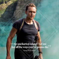 """Join us in wishing a happy birthday to Skull Island's finest tracker, @TWHiddleston."" (https://twitter.com/Legendary/status/962053507904782340 ) #TomHiddleston #KongSkullIsland #CaptainJamesConrad #HappyBirthdayTomHiddleston"