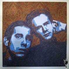 A Hazy Shade of Winter Simon And Garfunkel  Pop Art  by bcgm3, $250.00