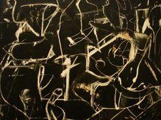 "nobrashfestivity: ""Willem de Kooning, Untitled, 1948–49. Oil and enamel on paper, mounted on composition board, 36 ¼ x 48 ¾ in. (92.1 x 123.8 cm). """