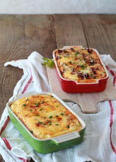 Chiles Rellenos Breakfast Strata with optional Chorizo for the meat-eaters (Via @KtKare)