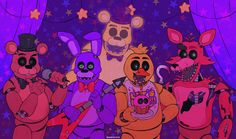 Five Nights At Freddy's, Fnaf Drawings, Cute Drawings, Fnaf Characters, Fictional Characters, Steven Universe Lapis, Anime Monsters, Freddy 's, Fnaf 1