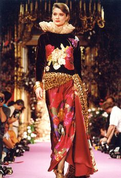 Christian Lacroix Haute Couture Fall-Winter 1989 by Christian_Lacroix, via Flickr