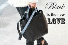 black bag <3  Sandra Bendre