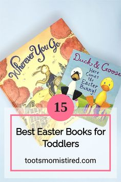 15 Best Easter Books for Toddlers | best picture books for a toddler's Easter basket. Bunny books for Easter, board books for Easter, one year olds, two year olds, three year olds, four year olds. Toddler Books, Childrens Books, Two Years Old Activities, Easter Baskets For Toddlers, Bunny Book, Easter Books, Baby Bedtime, Tired Mom, Kids Lighting