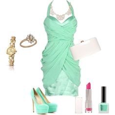 """Green dream"" by prudence-sarah on Polyvore"