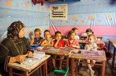 Morocco  children at school