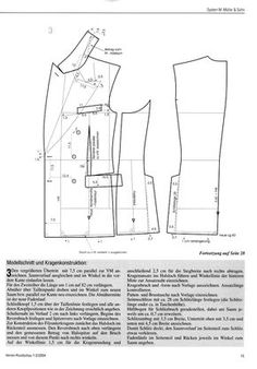 """Rundschau goes """"British""""! - The Coatmaker's Forum - The Cutter and Tailor Tailoring Techniques, Techniques Couture, Sewing Techniques, Coat Patterns, Dress Sewing Patterns, Clothing Patterns, Costume Patterns, Vogue Patterns, Suit Pattern"""