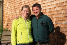 Menschen mit Vision: Gastgeber Melitta und Alexander Geißler von @mattlihues  #biohotel #allgaeu