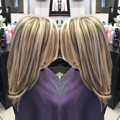 ideas hair color highlights and lowlights long layered haircuts Hair Highlights And Lowlights, Brown Hair With Blonde Highlights, Blonde Hair Looks, Hair Color Highlights, Peekaboo Highlights, Short Hair Styles Easy, Short Hair Updo, Short Hairstyles, Hair Color And Cut