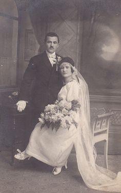 Antique Wedding Dress.