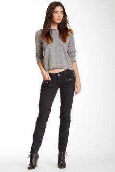Jolt Moto Skinny Jean (Shoes)