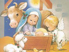Nativity by Ruth Morehead