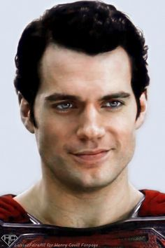 Henry Cavill as MOS...love his eyes!