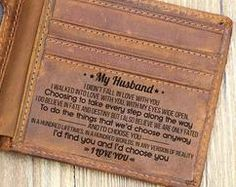Dad Gifts - Leather Wallet For Dad - Perfect Gifts For My Dad - Engraved Leather Wallet - Best Gifts For Dad Gifts For Fiance, Great Gifts For Dad, Best Dad Gifts, Perfect Gift For Dad, Gifts For Your Boyfriend, Love Gifts, Fathers Day Gifts, Daddy Gifts, Trending Christmas Gifts